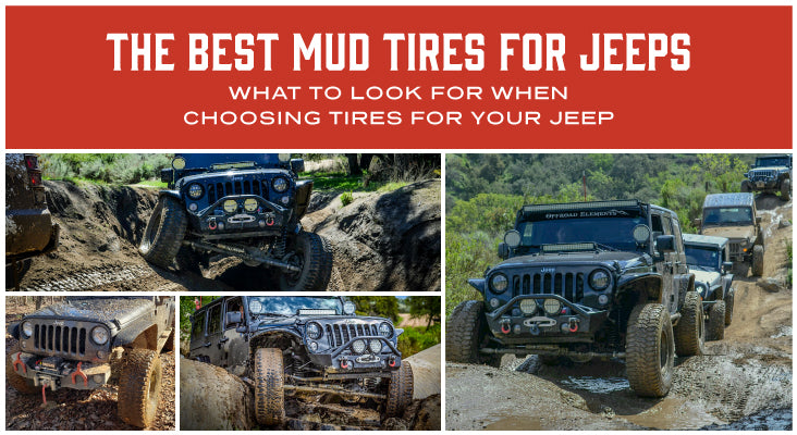 The Best Mud Tires For Jeep
