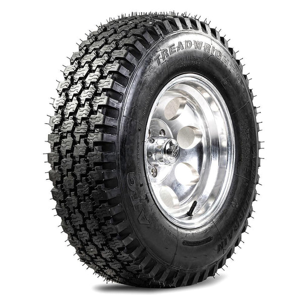 TreadWright ATG 235/75R15 4PLY All Terrain Remold Tires | Light Truck, SUV & 4X4 Off-Road Tires | USA Made