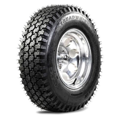 TreadWright Blemish ATG 235/75R15 4PLY all terrain remold tires for light truck, SUV & 4X4 off-road adventures | USA Made