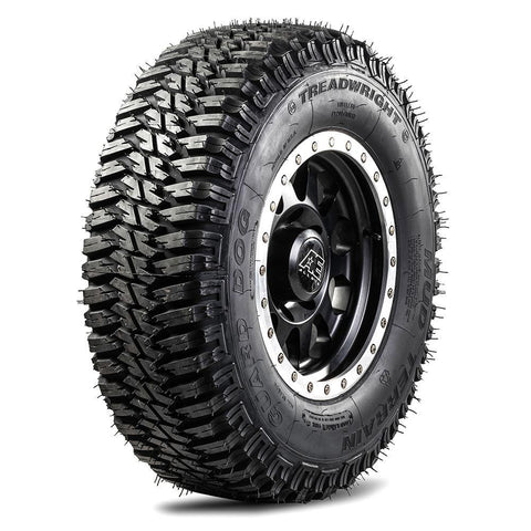 TreadWright Blemish Guard Dog 245/70R19.5 14 PLY Mud Terrain Remold Tires | Light Truck, SUV & 4X4 Off-Road Tires | USA Made
