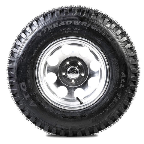 TreadWright ATG 235/75R15 6PLY All Terrain Remold Tires | Light Truck, SUV & 4X4 Off-Road Tires | USA Made