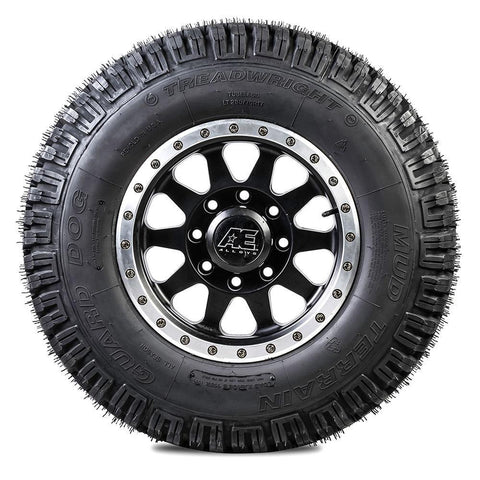 TreadWright Guard Dog 35x12.5R17 8 PLY Mud Terrain Remold Tires | Light Truck, SUV & 4X4 Off-Road Tires | USA Made