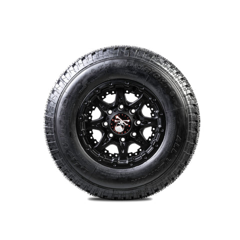 BLEMISH LT | AT DIRT LORD 245/75R16 10 PLY REMOLD USA Tire 245 75 16 E