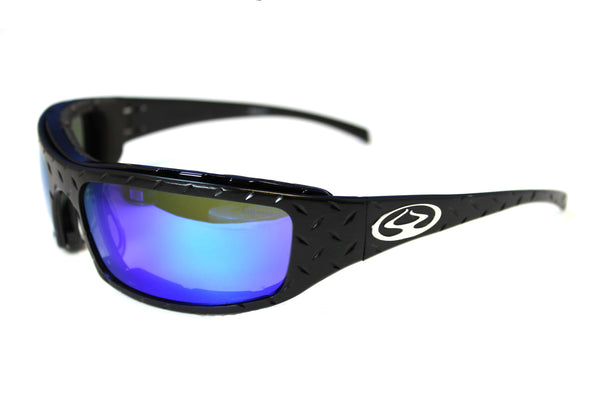 Inferno Black Diamond Burns - Made in the USA (Lifetime Warranty) Sun Glasses Inferno