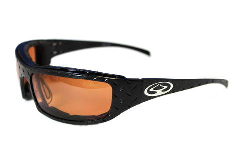 Inferno Sunglasses Black Diamond Burns - Lifetime Warranty, USA Made | TreadWright