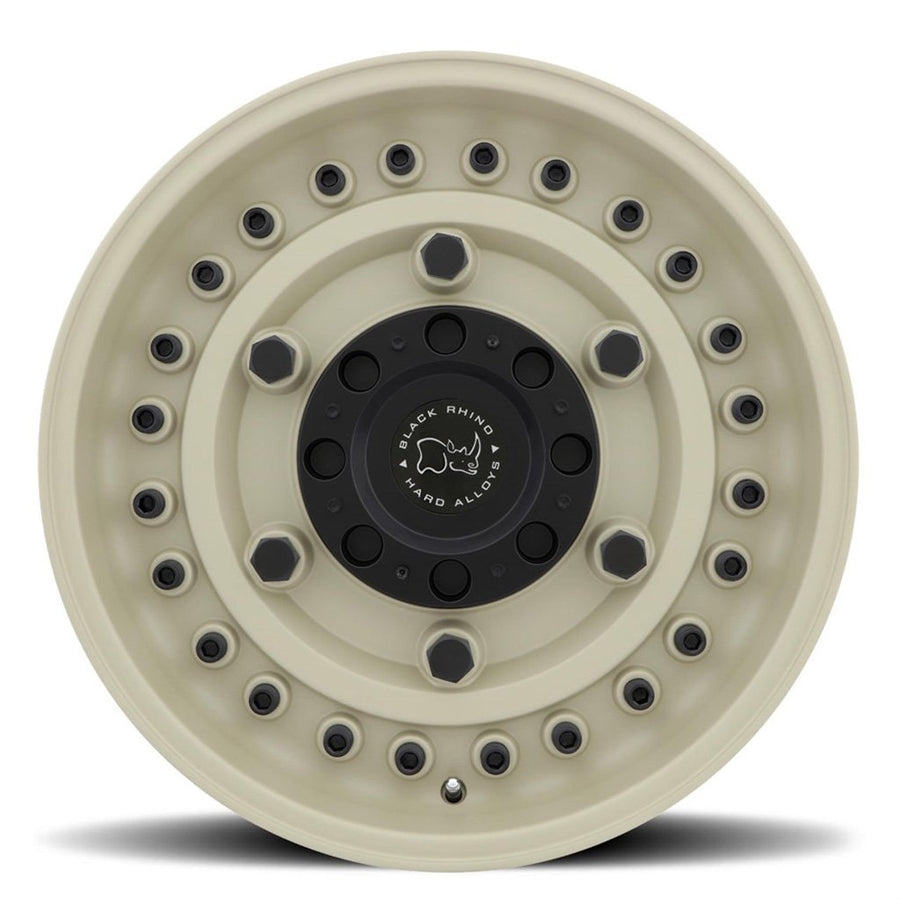 Black Rhino Armory Wheels & Rims 16X8.0 5/127 ET-10 CB78.1 Desert Tan for Trucks & SUV