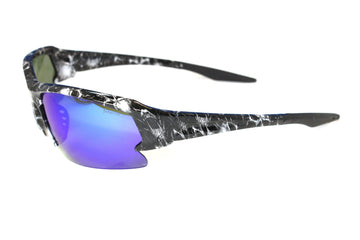 Inferno Sunglasses HyrdoFuel - Bm-Black White Vampire Skulls | TreadWright