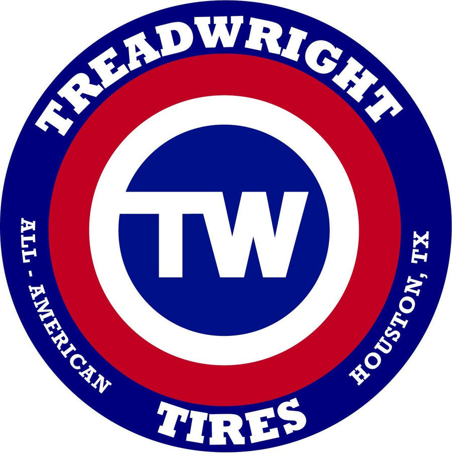 Treadwright 17in Vinyl Sticker