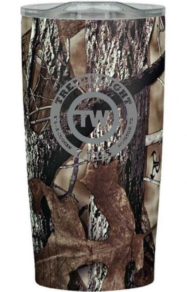 TreadWright Merch Stainless Steel Camo Tumbler (20 oz) - Double Wall Vacuum Insulated