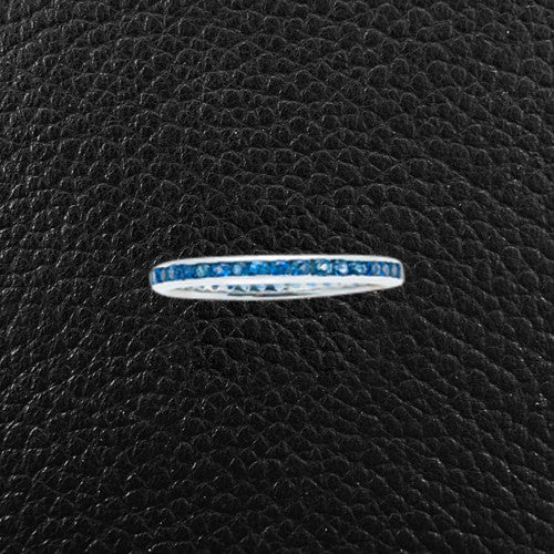Blue Sapphire Band Ring