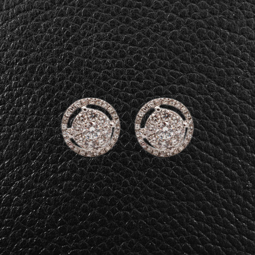 Multi-Diamond Earrings