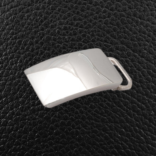 Sterling Silver Belt Buckle, Engravable