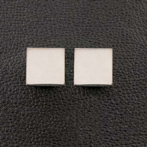 Square Sterling Silver Cufflinks