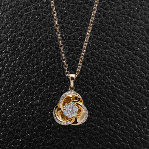 Gold & Diamond Pendant
