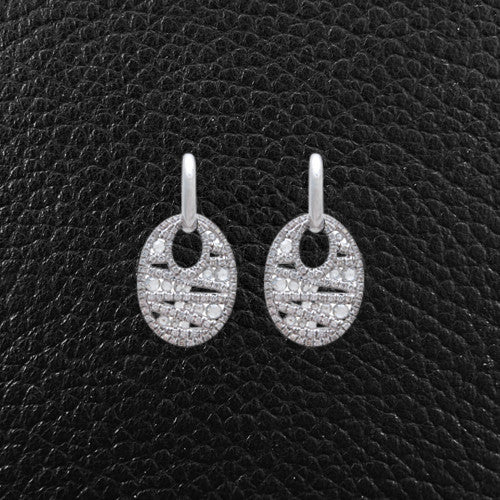 Diamond Contemporary Earrings