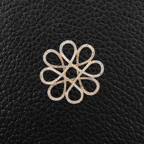 Diamond Flower Design Pendant