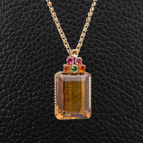 Citrine Estate Pendant