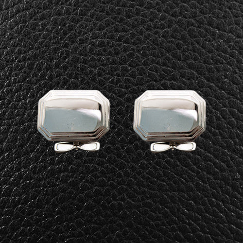 Engravable Sterling Silver Cufflinks