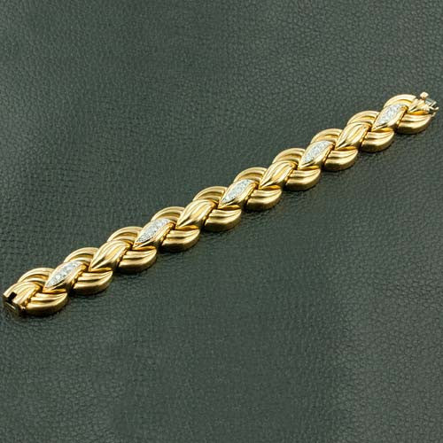 Gold & Diamond Estate Van Cleef & Arpels Bracelet
