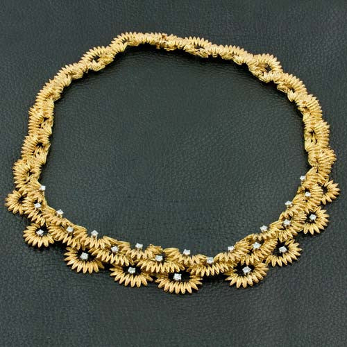 Gold & Diamond Estate Cartier Necklace