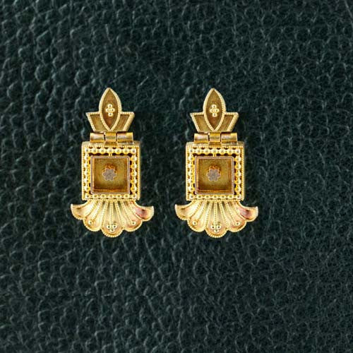 Archeological Revival Estate Earrings