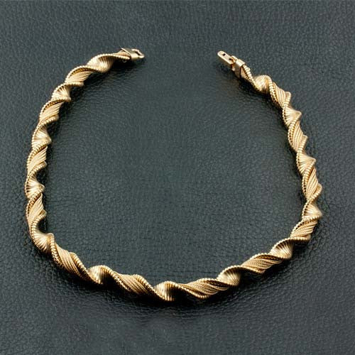 Vintage Yellow Gold Necklace