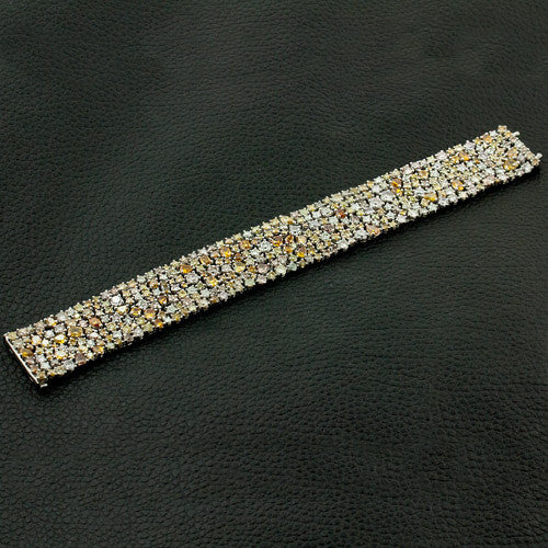 Fancy Colored Diamond Bracelet