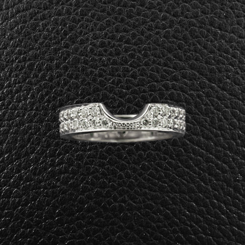 Custom Nested Diamond Wedding Band