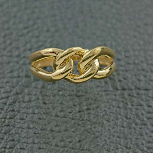 Yellow Gold Knot Ring