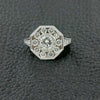 Octagonal Multi-Diamond Ring
