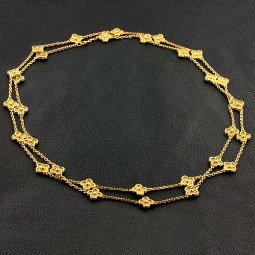 Yellow Gold Estate Necklace