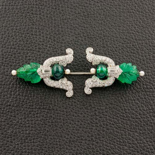 Estate Cartier Jabot Pin