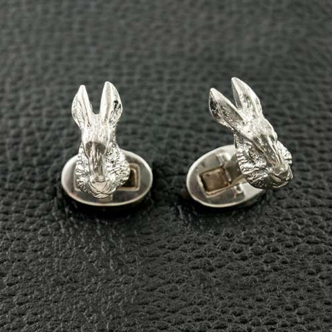 Rabbit Head Cufflinks