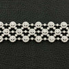 Circle & Dot Motif Diamond Bracelet