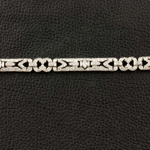 Diamond Estate Deco Bracelet