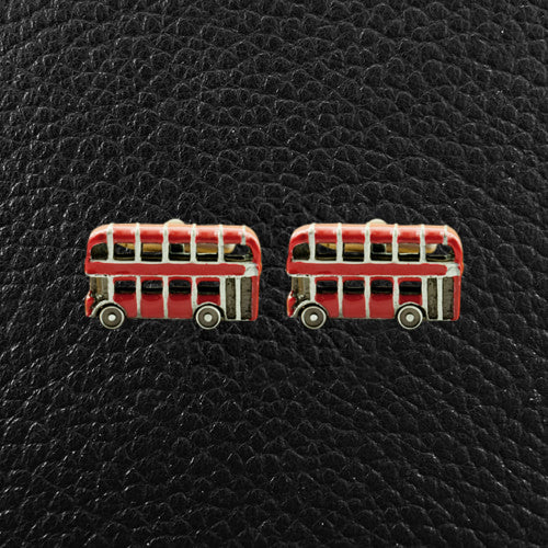 Double Decker Bus Cufflinks