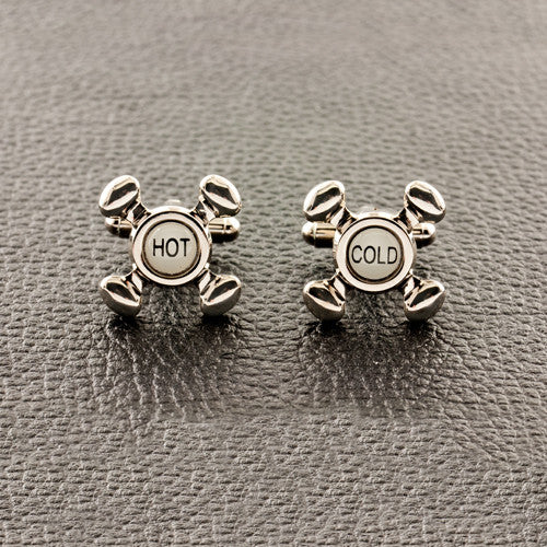 Hot & Cold Cufflinks