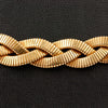 Braided Gold Estate Necklace
