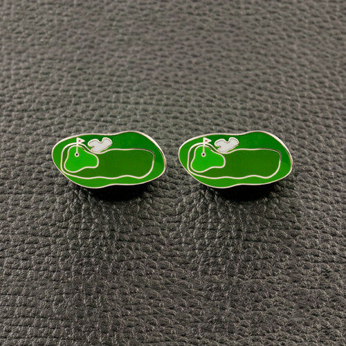 Golf Course Cufflinks