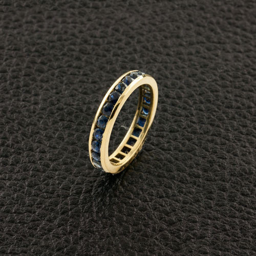 Sapphire Guard Ring Band