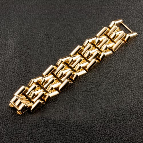 Gold Retro Estate Bracelet