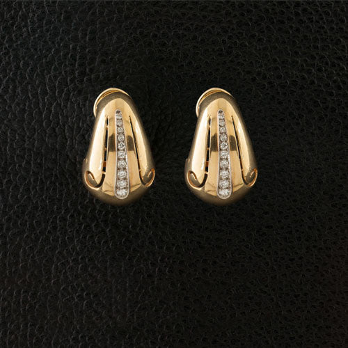 Diamond Estate Earrings