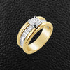 Diamond Men's Wedding Band