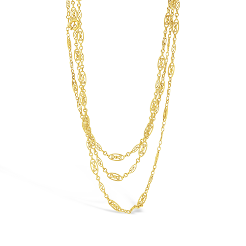 French Estate Chain Necklace