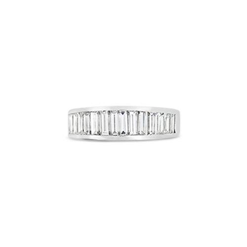 Graduated Baguette Band Ring