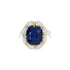 Sapphire & Diamond Estate Ring