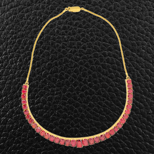 Red Spinel Necklace
