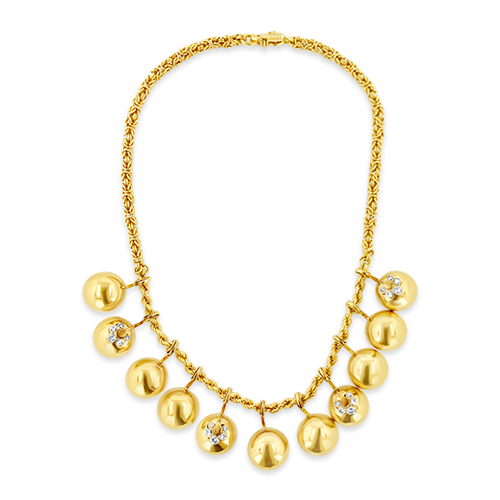 Gold Italian Estate Necklace