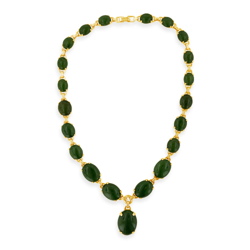Nephrite Estate Necklace