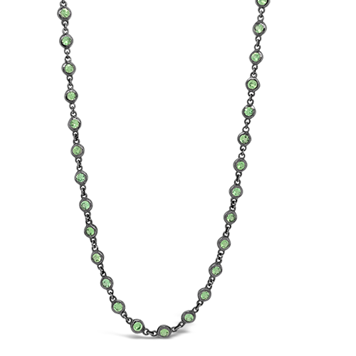Tsavorite Chain Necklace